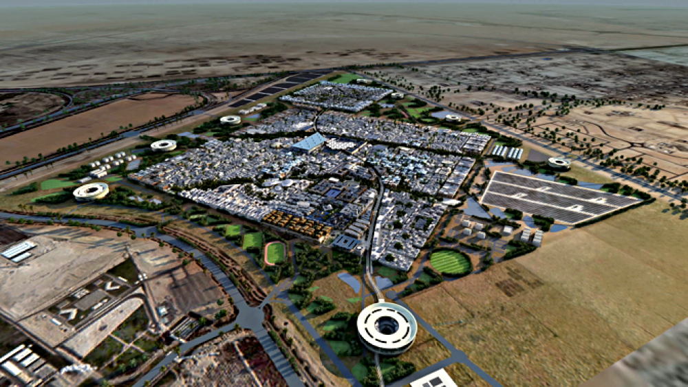 Masdar City: Strom statt Sprit