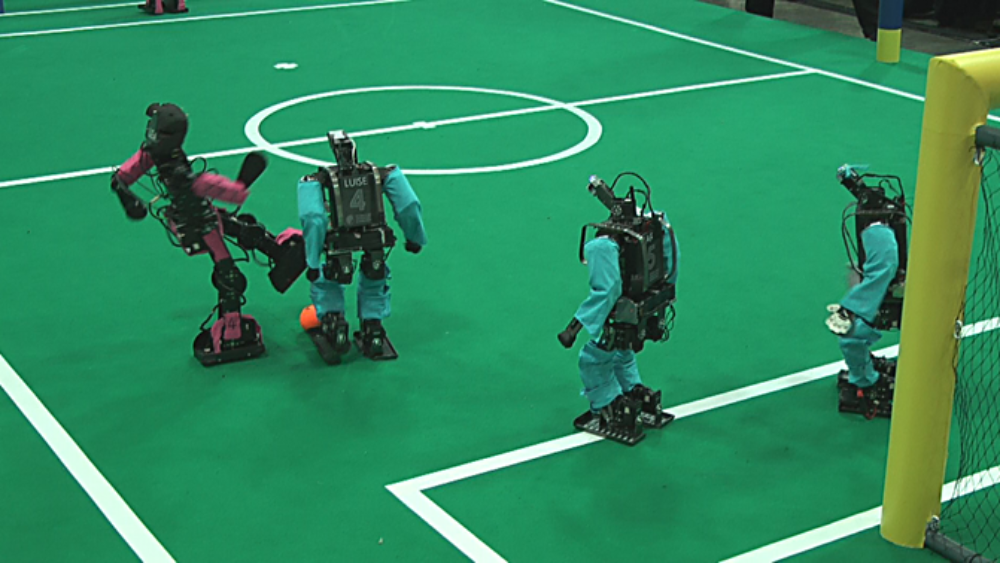 Champions-League der Robot-Kicker