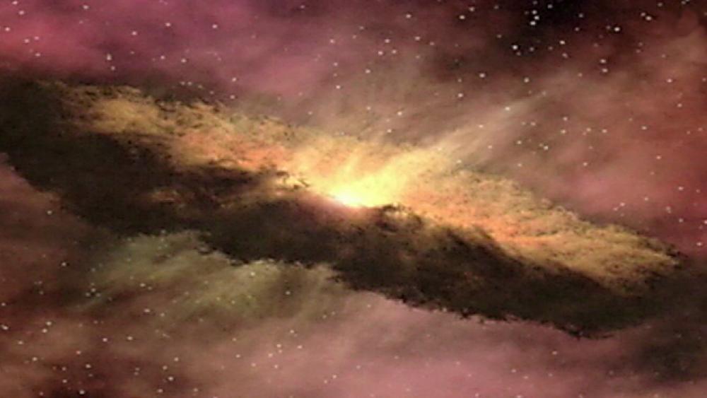 Die dunkle Seite des Universums