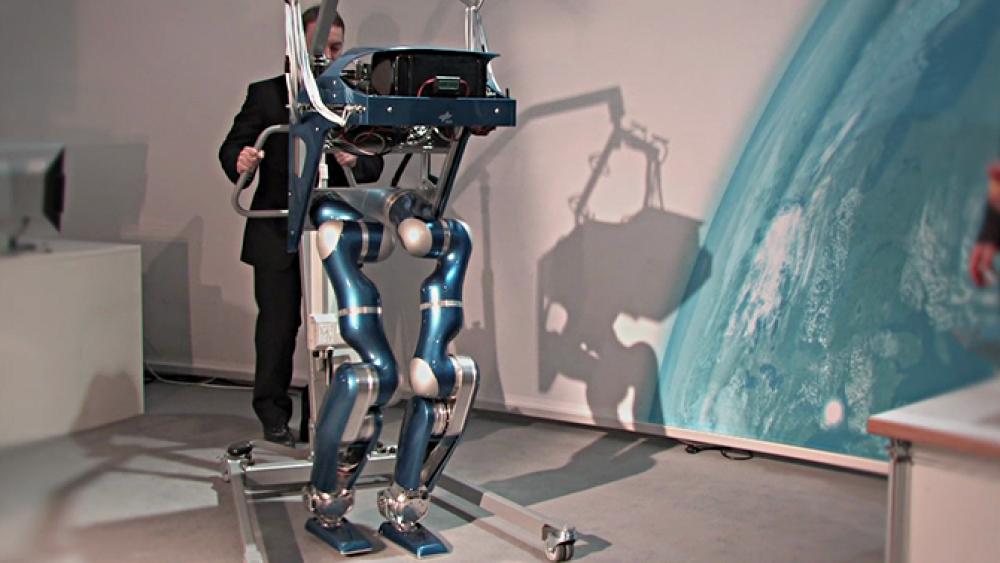 Roboter lernen Laufen