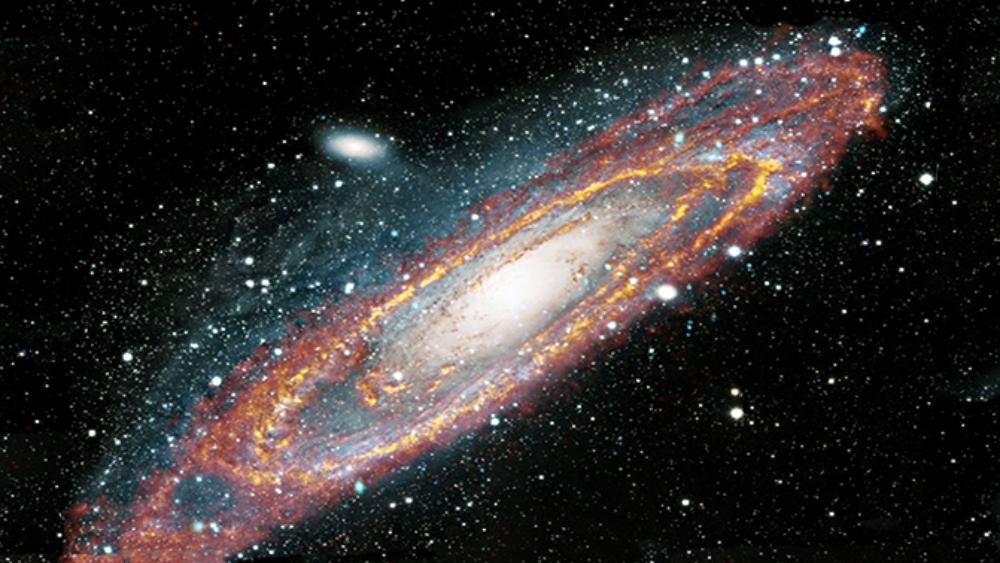 Das Universum im Infrarotlicht