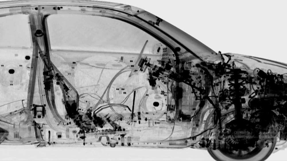 Autos im Röntgenlicht