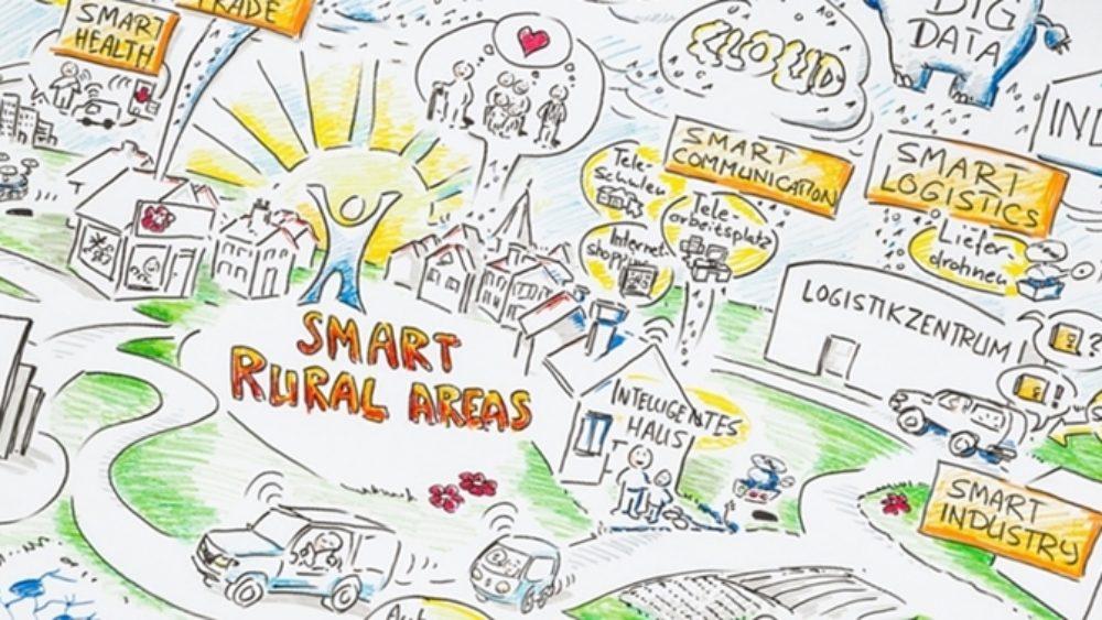 Smarte Städte, digitale Dörfer