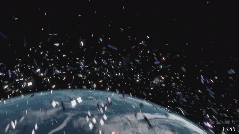 Orbitale Müllhalde