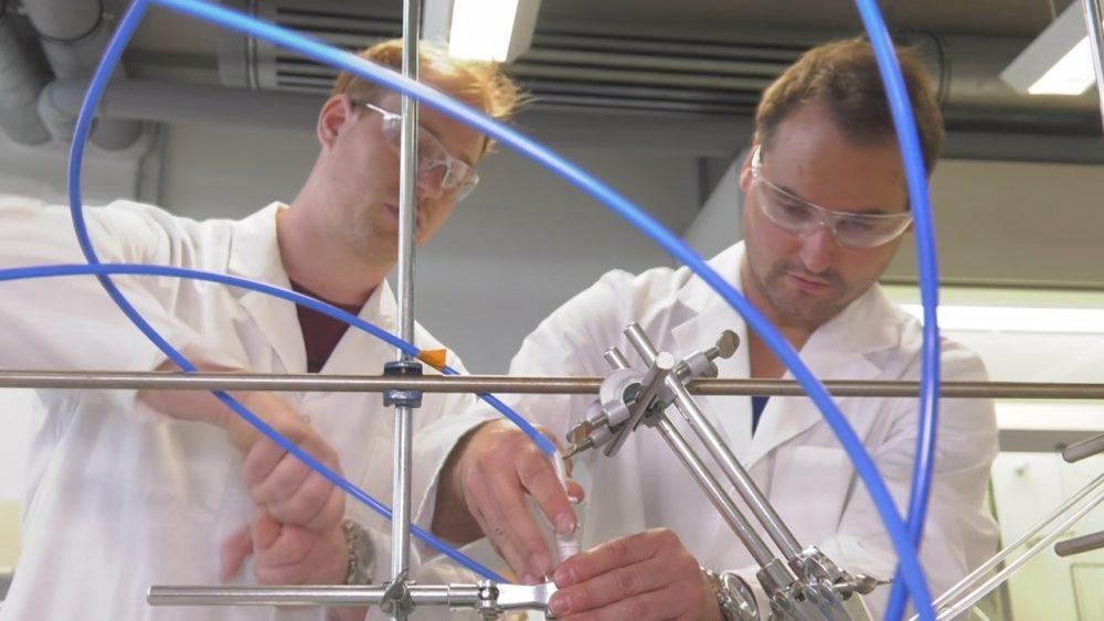 Chemiefabrik der Zukunft