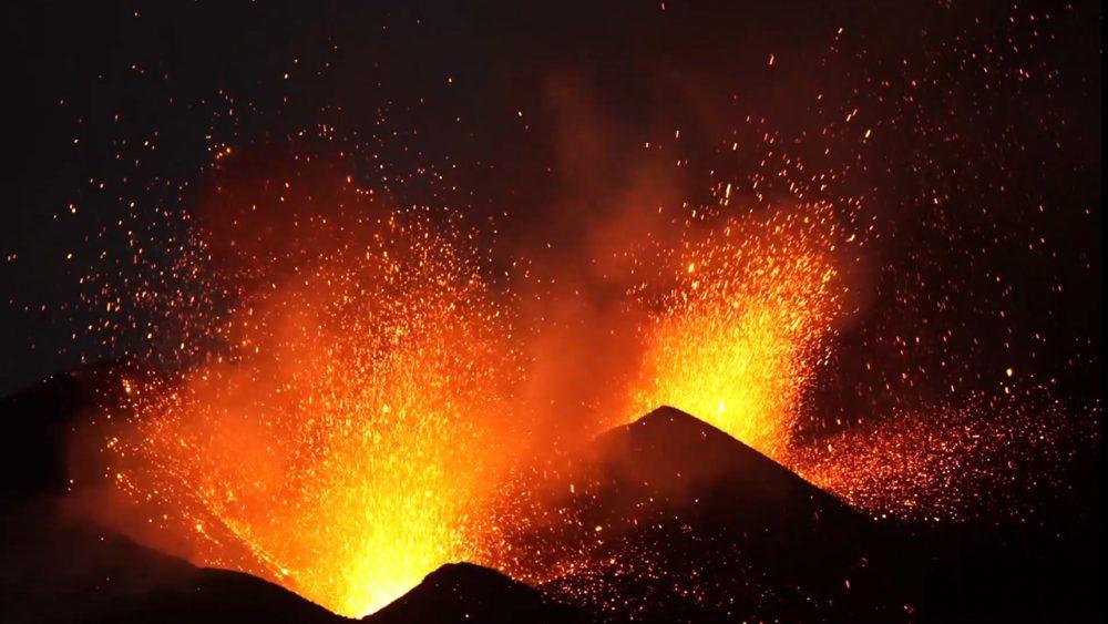 Eruptive Energien